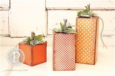 UNFINISHED: 4x4 Pumpkins Set
