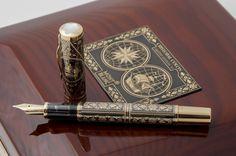 Montblanc Cristobal Colon Toledo Füllfederhalter Artisan Edition 92 NEU | eBay