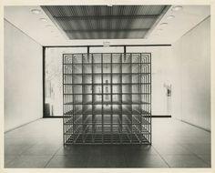 Sol LeWitt: Nine Part Modular Cube, Sculpture. Anselm Kiefer, Straw Sculpture, Sculpture Art, Peter Fischli David Weiss, Cubes, Cube World, Art Cube, Spirited Art, Museum Of Modern Art