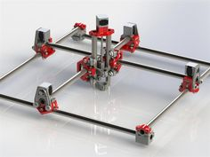 3ders.org - Ryan Zellars shares designs for impressive mostly 3D printed RepRap CNC machine
