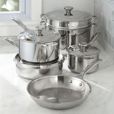 Free Shipping.  Shop Le Creuset ® Signature Stainless Steel 10-Piece Cookware Set.  Le Creuset's premium stainless steel cookware reflects the same European craftsmanship and character that has defined the company's cast iron for decades.