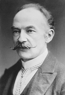 "British novelist and poet Thomas Hardy His novels include ""The Return of the Native,"" ""Tess of the D'Urbervilles,"" ""Far from the Madding Crowd"" and ""Jude the Obscure. Louise Brooks, Writers And Poets, Writers Write, Jude The Obscure, People Of Interest, Book Writer, Romanticism, Canterbury, Jane Austen"