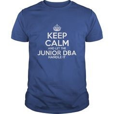 Awesome Tee For Junior Dba T-Shirts, Hoodies. BUY IT NOW ==► https://www.sunfrog.com/LifeStyle/Awesome-Tee-For-Junior-Dba-Royal-Blue-Guys.html?id=41382