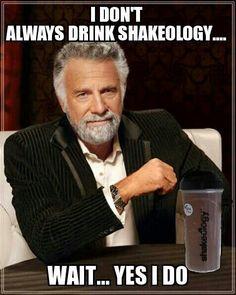 ♥My shakeology