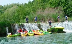 Kayaking / canoeing Mreznica river, Croatia