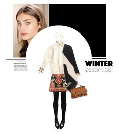 """""""Winter Style"""" by forzieri ❤ liked on Polyvore featuring Tory Burch, M&S Collection, Aurélie Bidermann, Proenza Schouler, fringe, boho, bohochic, proenzaschouler and winterstyle"""