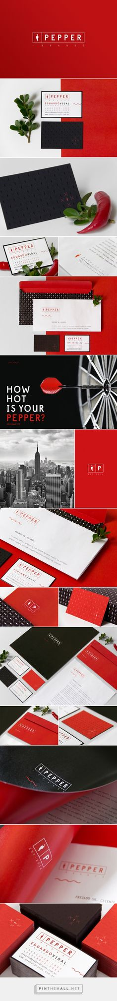 Pepper Brands Licensing Agency Brand Identity by 303 Design Squadron | Fivestar Branding Agency – Design and Branding Agency & Curated Inspiration Gallery