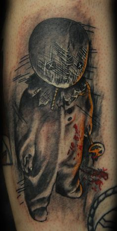 Trick 'r Treat inspired tattoo. I love it!