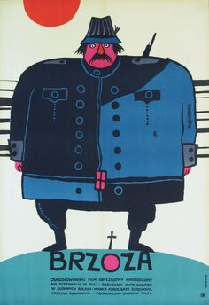 movie poster by bohdan butenko, 1967 http://www.butenko.pl/dorobek.php?id=2#zakres