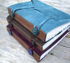 Replica Medieval Limp Leather Book Structure by MyHandboundBooks, via Flickr