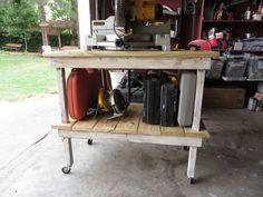 Reconstructing an old work cart!