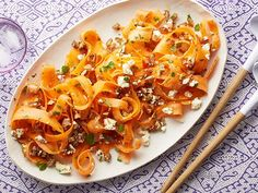 Low in calories and fat and loaded with flavor, this Carrot, Date and Feta Salad gets better as it sits.