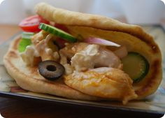 Often filled with lamb or beef, gyros get a chicken makeover with tender, fragrant chunks of chicken, amazingly fresh produce, creamy yogurt sauce, and more. You'll want to have pita bread on hand after giving this recipe a whirl.