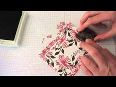 Triple Step Stamping Using Stampin' Up! Products - YouTube