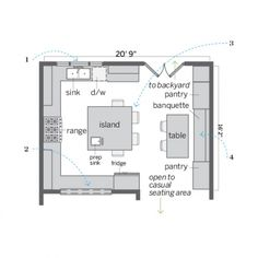Floor Plan After: New Square Space