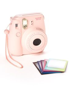 Love my Instax. And a pink camera is pretty much perfectino. :: Pink Instax Mini 8 Camera & Film Set on sale on Zulily for one more day