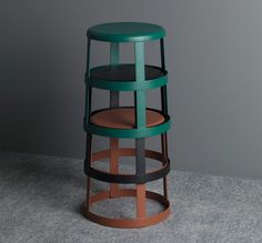 ... MSDS Studio named its 6063 Stool after the pure aluminium alloy from  which it is made. The base features four vertical supports encircled by a  loop. d5cf2f891fcf