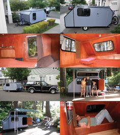 Tiny camper!! Love it!