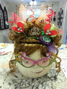 Pumpkin book character. Fancy Nancy