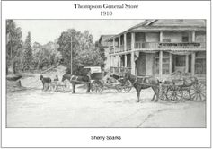 Thompson General Store, later Jefferson Inn by Sherry Sparks