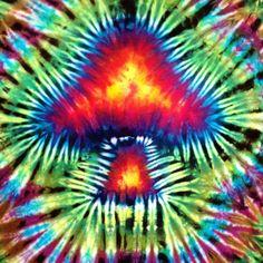 Mushroom Tie Dye