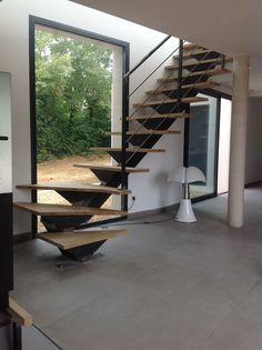 1000 ideas about escalier quart tournant on pinterest escalier quart tournant haut stairs. Black Bedroom Furniture Sets. Home Design Ideas