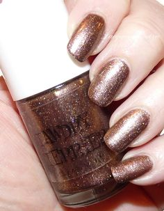 """@Tawdry Terrier """"Harvest Moon Possum Hunt"""" Review and swatches of #tawrdryterrier polishes by @Melissa Goodwin - http://www.lacquerreverie.com/2013/09/welcoming-fall-with-tawdry-terrier.html  Available at http://www.etsy.com/shop/TawdryTerrier #nailpolish #indienailpolish"""