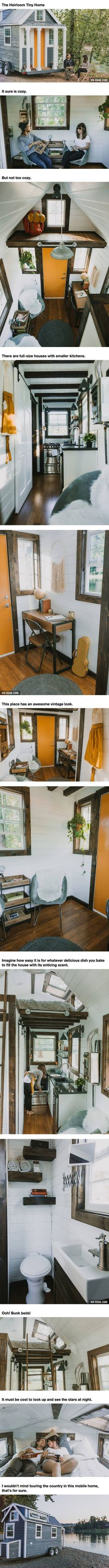 This Cozy And Custom Mobile Home Is Exactly What Campers' Dreams Are Made Of