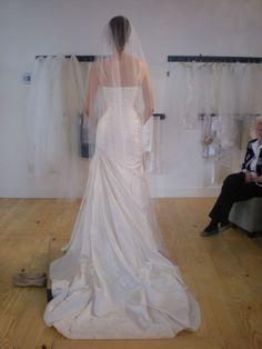 Back side of Pronovia Alice dress
