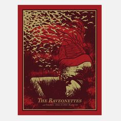 Raveonettes DC Red 25x19 design inspiration on Fab.