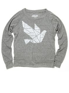 love love love. but... it's another $60 sweatshirt. at least 25% of this one goes to charity.