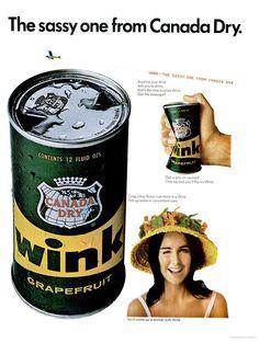 Canada Dry Wink Soda (1966)