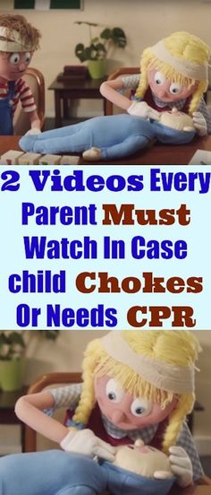 2 Videos Every Parent Must Watch In Case Child Chokes Or Needs CPR #baby #safety #cpr #parenting #kids