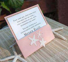 Beach Bridal Shower Invitation por EmbellishedPaper en Etsy, $2.00