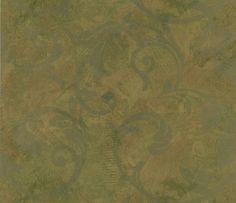 Cadiz Quarry Scrolling Texture Gold Wallpaper 55-22740