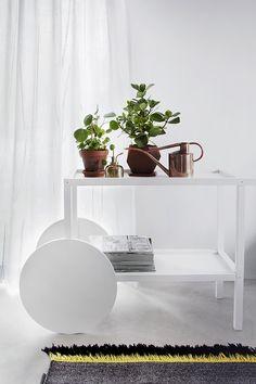 Finnish stylist Susanna Vento for Kinnasand.  White Table by Everyday Design Oy.