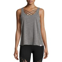 93943a7f5f2d0 Pacific Tie-Back Athletic Tank by Vimmia. Vimmia