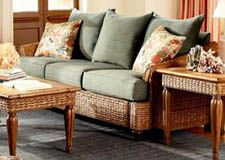 Rattan And Wicker Sleeper Sofas Island Florida Sofa Sofarattansunroom