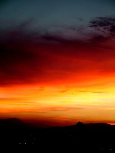 Sunset. | Christopher Dippner... this is what Cali looks like when the sun goes down <3