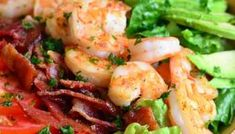Shrimp and Grits - Will Cook For Smiles Baked Catfish Recipes, Buttermilk Ranch Dressing, Cheesy Grits, Shrimp N Grits, Homemade Ranch, Cooking Bacon, Shrimp Salad, Dried Tomatoes, Favorite Recipes