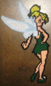 Free Patterns Plastic Canvas Angels | Classic Tinkerbell Plastic Canvas Pattern | eBay