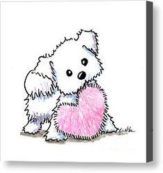 Maltese Heart N Soul Puppy by Kim Niles