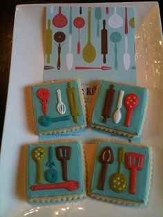 Kitchen utensils by Calley's Cookie Jar, via Flickr