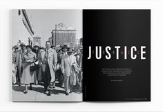 Baltimore Magazine. August 2017. Justice for All. Photography by Getty Images.