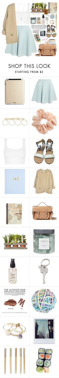"""2340. For what it's worth: It's never too late to be whoever you want to be. I hope you live a life you're proud of, and if you find that you're not, I hope you have the strength to start over. ~ F. Scott Fitzgerald"" by chocolatepumma ❤ liked on Polyvore featuring Toast, Sonia by Sonia Rykiel, Topshop, Kate Spade, The Cambridge Satchel Company, Threshold, Olivine, Paul Smith, Urban Decay and Accessorize"