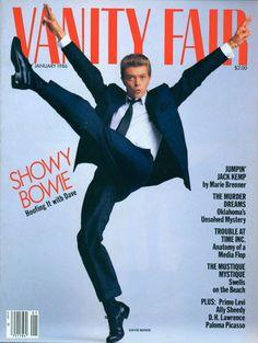 Vanity Fair - Janeiro, 1986 - David Bowe