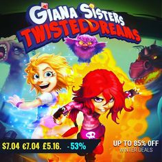 January #gamedeals Giana's Sisters: Twisted Bundle -52% Off $8.63 8.63 6.71 http://ift.tt/2iILYoG #plugindigital #pcgaming #pcgamer #gaming #siladeals