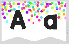 Classroom Bunting, Classroom Labels, Classroom Organisation, Graduation Theme, Circle Time, Confetti, Numbers, Celebration, Dots