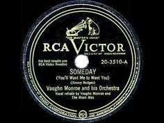 1948 HITS ARCHIVE: Someday (You'll Want Me To Want You) - Vaughn Monroe ...