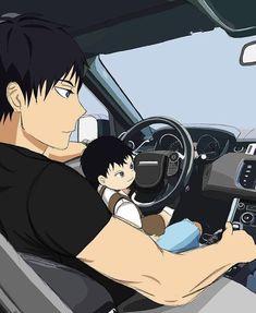 Anime Dad, Real Anime, Cute Anime Guys, Haikyuu Kageyama, Haikyuu Manga, Haikyuu Fanart, Kagehina Cute, Haikyuu Ships, Anime Boyfriend